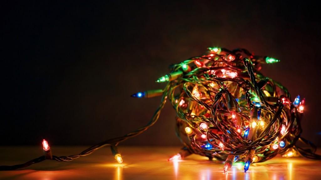 Tangle Christmas Light