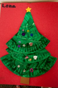 Christmas Tree Craft Preschool