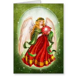 Angel Christmas Card