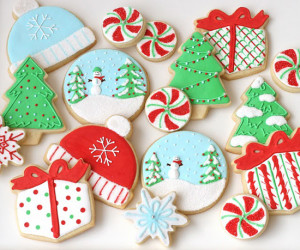 Decoration of Cookie for Christmas