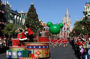 Disney World Christmas Day