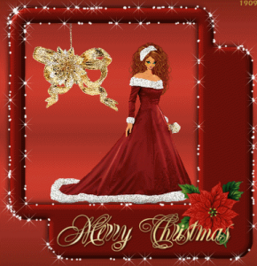Merry Christmas With Rose