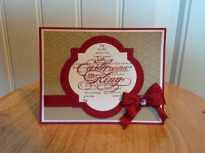 Handmade Christmas Card 2015