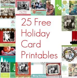 Holiday Printable Card