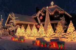 Christmas Light House