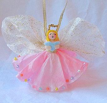 angel ornament craft xmasblor