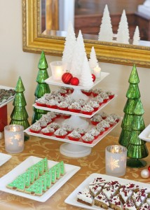 Christmas Party Dessert Table