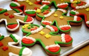 Christmas Food Gingerbread man