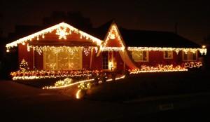 Light Decoration Of Christmas