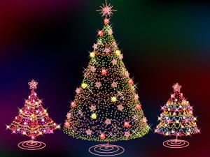 Christmas Tree Light Desktop