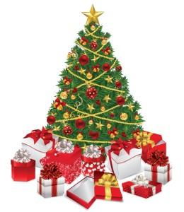 Christmas Tree With Gift