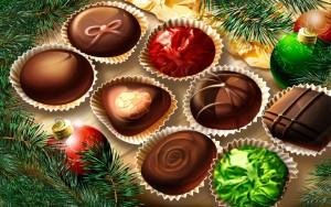 Christmas Chocolate Food