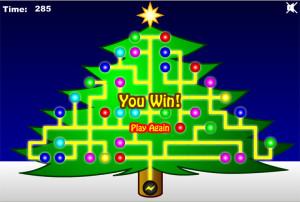 Christmas Tree Light Up Game