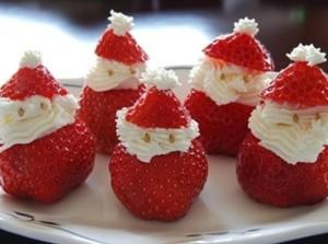 Christmas Santa Strawberries